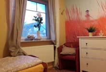 Schlafzimmer im Fischers Friesenhus